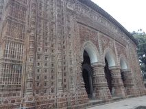 Kantanagar Temple with Terracotta Design 18-th Century Bangladesh stock photo