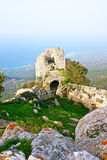 Kantara castle royalty free stock images
