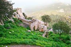 Kantara castle Royalty Free Stock Photos