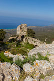 Kantara Castle, Cyprus Stock Images