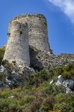 Kantara Castle - Turkish Republic of Northern Cyprus Royalty Free Stock Images