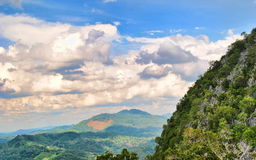 KANTAUAN LOKSADO,加里曼丹印度尼西亚MONTAINT  免版税库存照片