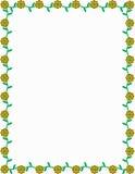 kantblommafjäder royaltyfri illustrationer