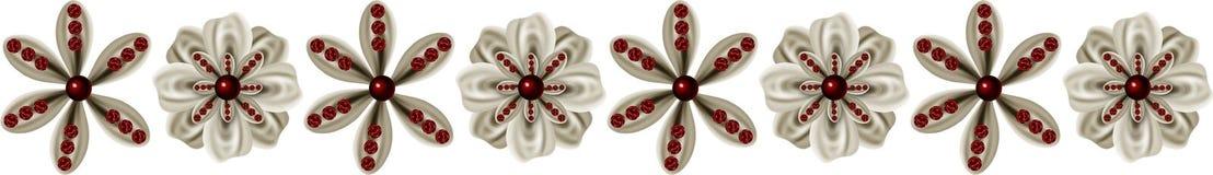 kantblommor vektor illustrationer