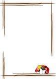 kantchampinjoner royaltyfri illustrationer