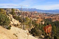 Kante von Bryce Canyon National Park, Utah Stockfoto