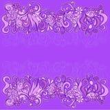 kanten blommar den sketchy vektorn för illustrationen vektor illustrationer