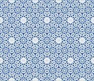 Kanten patroon met sneeuwvlokken Royalty-vrije Stock Foto