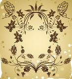kanten samlar blomman vektor illustrationer