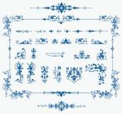kanter som skapar elementseten Arkivbilder