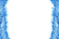 kantfärgstänkvatten stock illustrationer