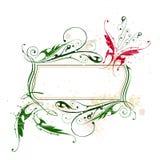 kantfjärilsblommor vektor illustrationer