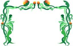 kantgreen vektor illustrationer