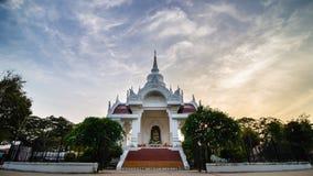 Kantharawichai buddha bronze statue in Mahasarakham, Thailand. One of many landmark in Mahasarakham, shoot in evening light Stock Photography
