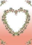 kanthjärta Royaltyfria Bilder