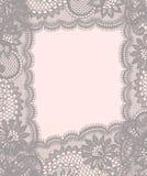 Kantkaart Pastelkleur gekleurde achtergrond Royalty-vrije Stock Foto