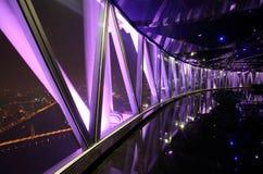Kanton - de toren van vooruitzichtTV met, binnen Royalty-vrije Stock Afbeeldingen