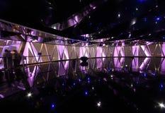 Kanton - de toren van vooruitzichtTV met mensen Royalty-vrije Stock Foto