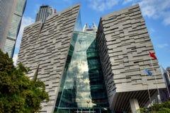 KANTON, PORCELANOWY †OKOŁO STYCZEŃ 2017 ': Nowa Guangzhou biblioteka Obrazy Stock