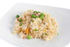 Kantonese rijst, Chinees voedsel Stock Foto's