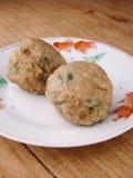 Kantonesischdim sum-Rindfleischbälle stockfotografie