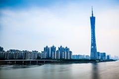 Kantontoren Guangzhou stock afbeelding