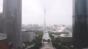 Kantontorn Guangzhou, Kina arkivfilmer