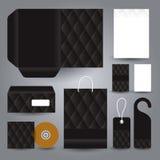 Kantoorbehoeften vastgesteld ontwerp/Kantoorbehoeften vastgesteld malplaatje Royalty-vrije Stock Fotografie