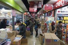 Kantoorbehoeftenmarkt Stock Foto