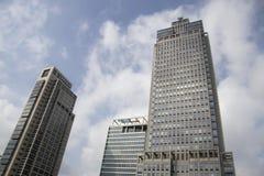 Kantoorcomplexen van DeltaLloyd en Philips in Amsterdam Stock Afbeelding