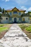 Kantor slott i södra bintan Indonesien Arkivbilder
