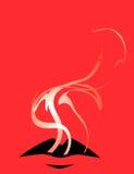 kantrökning royaltyfri illustrationer