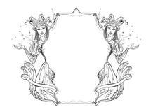 kantsaga royaltyfri illustrationer