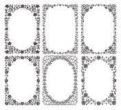 kantsilhouette Arkivbild