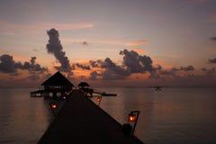 Kanuhura Rücksortierung Maldives Lizenzfreie Stockbilder