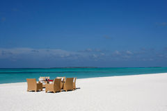 kanuhuramaldives semesterort royaltyfria foton