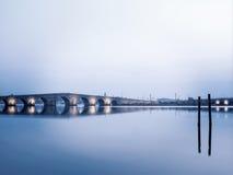 Kanuni苏丹Suleyman桥梁在伊斯坦布尔 库存图片