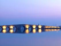 Kanuni Sultan Suleyman Bridge en Estambul Foto de archivo