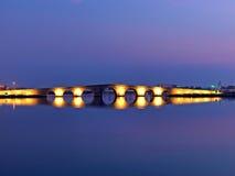 Kanuni Sultan Suleyman Bridge en Estambul Fotos de archivo libres de regalías