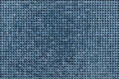 Kanwa Błękitni rhinestones Tło Obraz Royalty Free