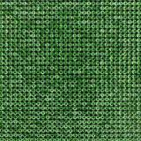 Kanwa zieleni rhinestones Tło Obraz Royalty Free