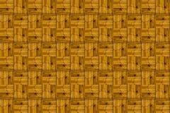 Kanwy deski wzoru tekstury deseniowego parkietowego światła drewniany skutek wyplata linie Zdjęcia Stock
