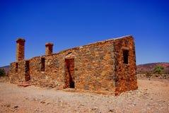 Kanyaka Ruins. Photograph taken of the ruins at Kanyaka Homestead near the Flinders Ranges (Outback Australia royalty free stock image