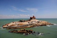Kanyakumari, o ponto o mais do sul de India Imagem de Stock