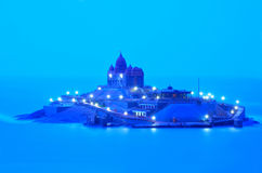 Kanyakumari vivekananda rock memorial, india Stock Image