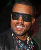 Kanye West. Arrives at the Ziegfeld Theatre for the New York City premiere iof `Mission Impossible 3` on May 2, 2006.  The event was one of the highlights of Royalty Free Stock Images