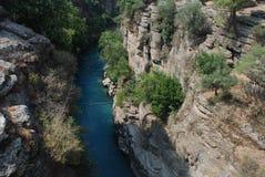 Kanyon de Koprulu Foto de Stock