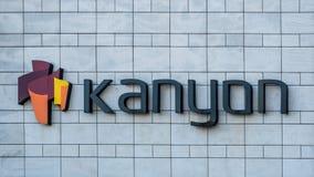 Kanyon zakupy centrum handlowe jest na wolnym powietrzu zakupy centrum handlowym w Levent w Istanbuł Obraz Stock