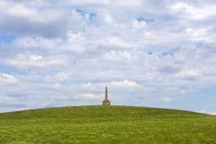 Kanza纪念碑,火石小山,堪萨斯 免版税图库摄影