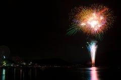 Kanzanji Feuerwerk 03 Lizenzfreie Stockfotos